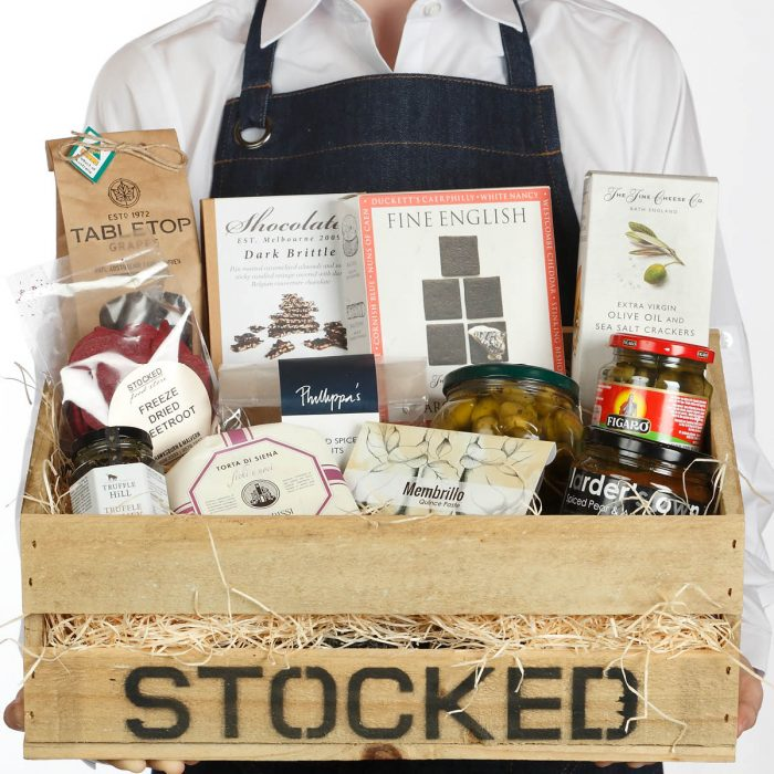 Stocked Hamper Just add Cheese