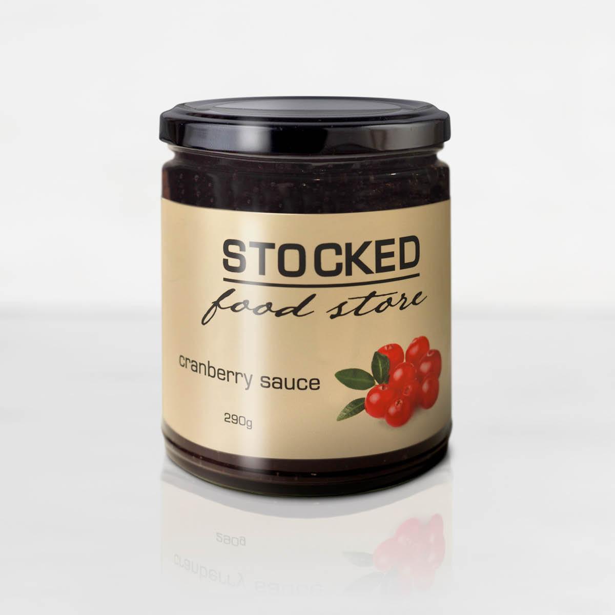 Stocked Cranberry Sauce